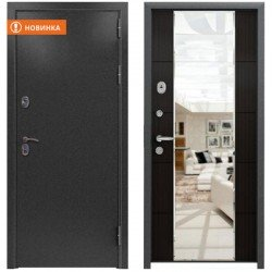 Входная дверь KVADRA 3К-MIRROR