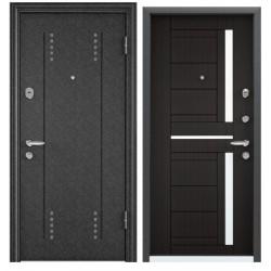 Входная дверь Torex Super OMEGA-10 RP-3 черный шелк, RS-2 венге