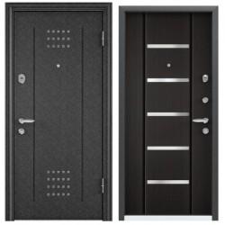 Входная дверь Torex Super OMEGA-10 RP-4 черный шелк, RS-1 венге