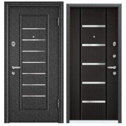 Входная дверь Torex Super OMEGA-10 VDM-2N черный шелк, RS-1 венге