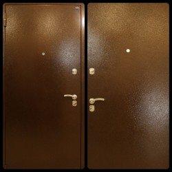 Входная дверь Йошкар-Ола Металл/металл в цвете медный антик