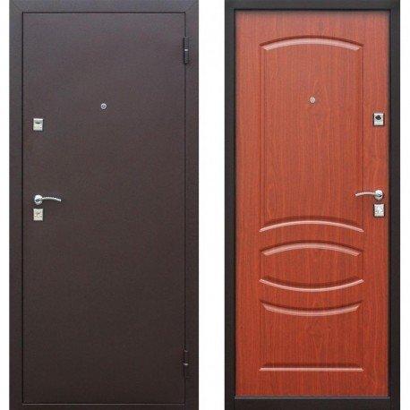 Входная дверь Стройгост 7 МДФ Итальянский орех