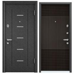 Входная дверь Torex Super OMEGA-10 RP-4 черный шелк, RS-3 венге