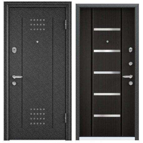 Входная дверь Torex Super OMEGA-10 RP-4 черный шелк, RS-2 венге