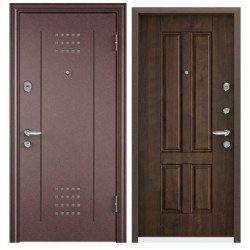 Входная дверь TorexSuper OMEGA-10 RP-1 медный антик, RS-4 орех грецкий